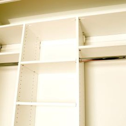 Matching closet spaces can prevent conflict.