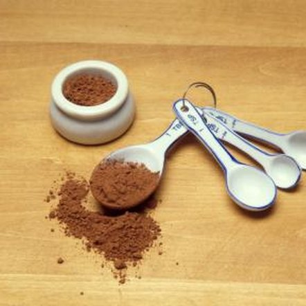 Cocoa powder is low-fat and sugar-free.