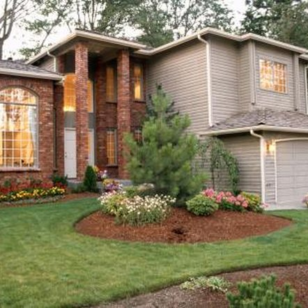A simple trench edge gives landscapes a polished look with little cost.