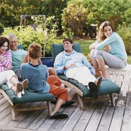 Keep your deck a beautiful space for family gatherings.