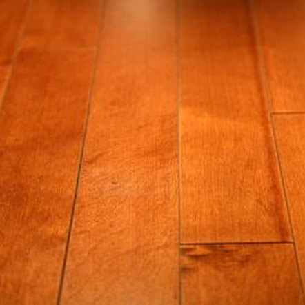Staggered seams create a smoother look on your wood floor.