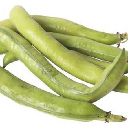 Green beans are also called string or bush beans.