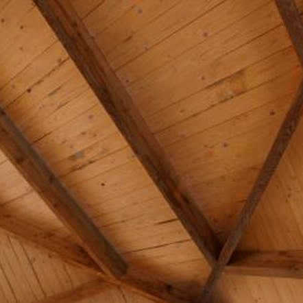 A properly insulated exposed-rafter roof is both beautiful and energy efficient.