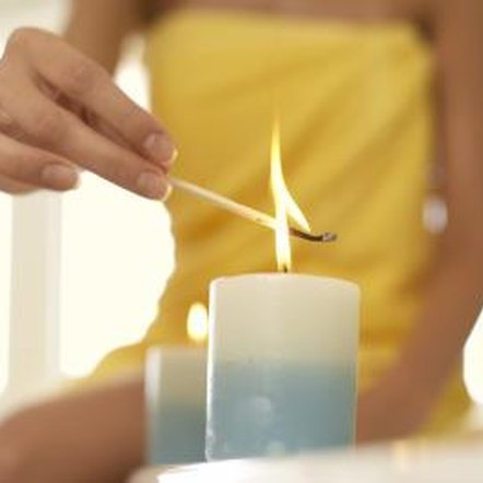 Long lasting candles can provide hours of relaxing or emergency lighting.
