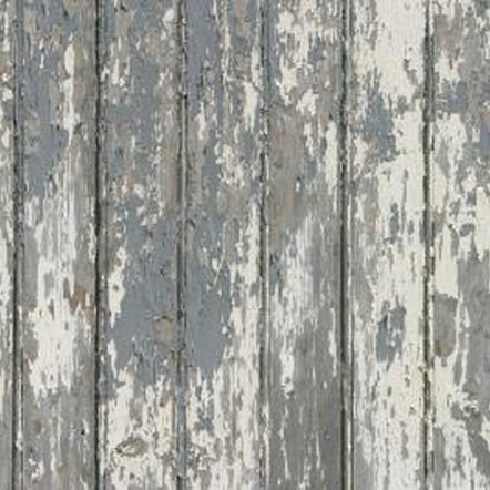 Painting preparation includes removing old, flaking finishes.