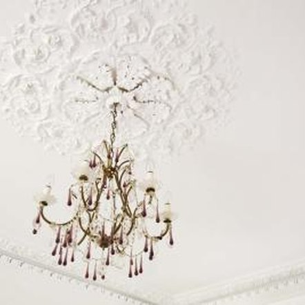 Decorating a ceiling light can change the look and feel of an entire room.