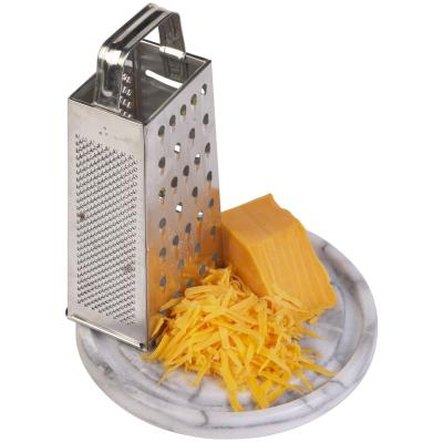 Grated cheese makes the portion size appear larger than ungrated.