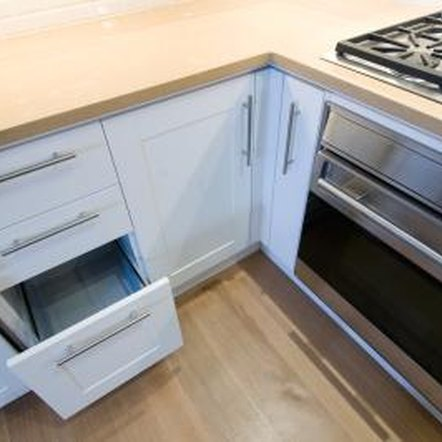 install kitchen cabinet drawer slides 3