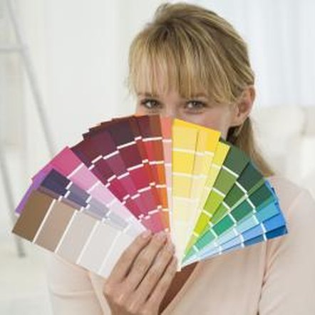 It's easy to paint a room in two colors when you follow some simple design guidelines.