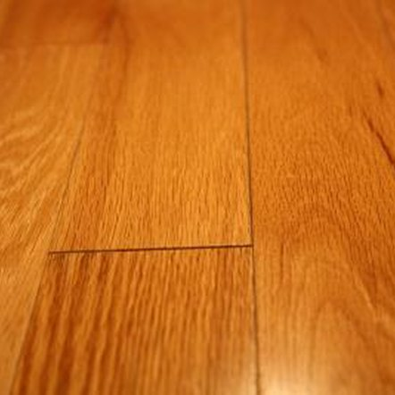 Steam out dents in hardwood flooring.