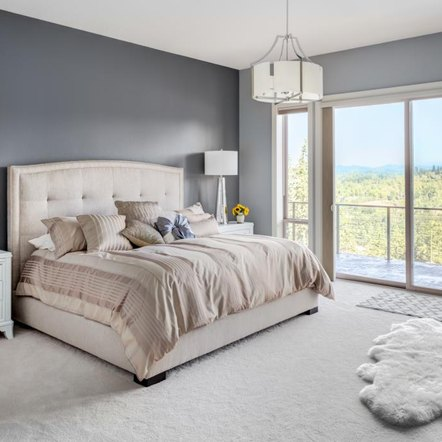diy wall mounted king size headboard home guides sf gate. Black Bedroom Furniture Sets. Home Design Ideas