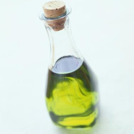 Olive oil contains heart-healthy monounsaturated fatty acids.