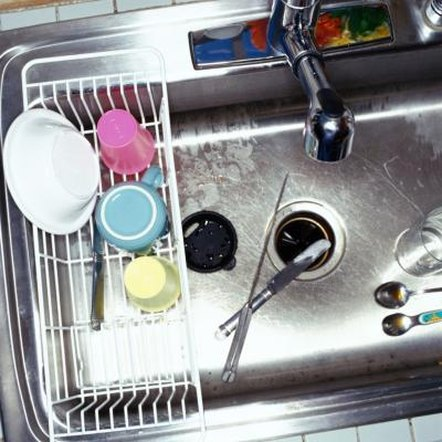 Grease and food particles contribute to clogged drains.