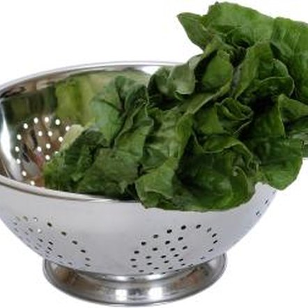 Young spinach cooked for short periods is less bitter.