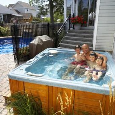 Clean your hot tub every three to four months.