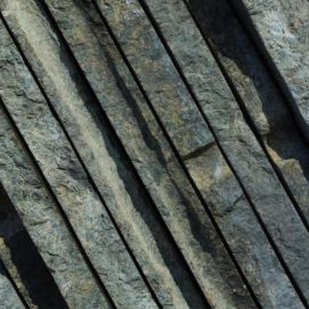 Slate's natural layers add texture and interest to slate tile.