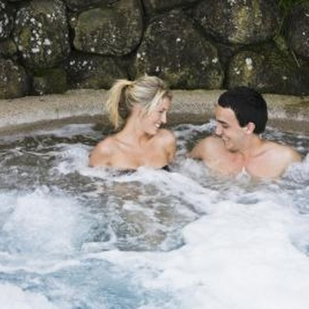 A hot tub bubbling up with foam makes guests leery of getting in.