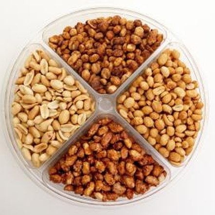 """Dietary Guidelines for Americans, 2010"" suggests substituting nuts for other protein sources."