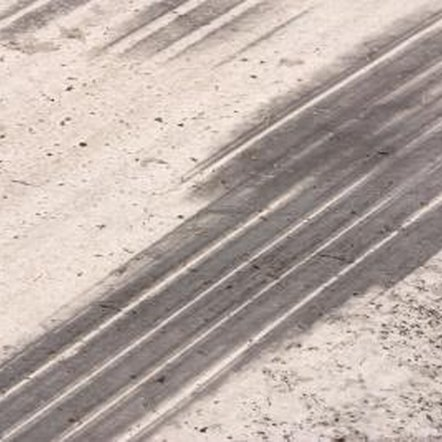 Skid marks are unsightly and develop in the driveway and at curbside..