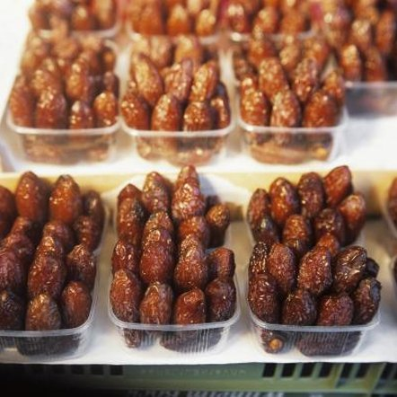 Not all dates in a bunch ripen at the same time.