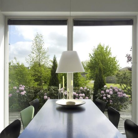 What Type Of Window Treatments Are Needed For Two Large