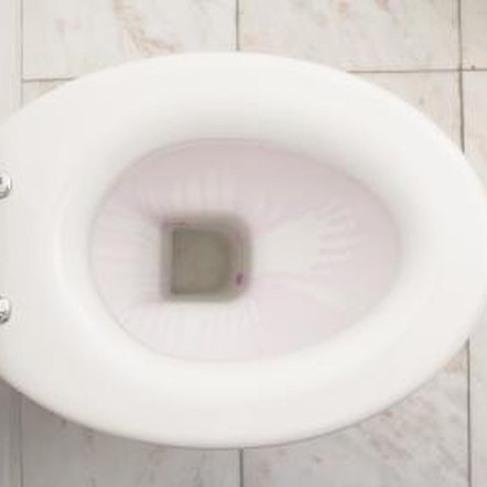 Toilet clogs are usually the result of flushing items that aren't meant for the toilet, such as tissue or paper towels.