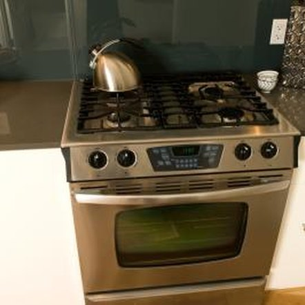 Most kitchen stoves are 30 inches wide and 36 inches high.