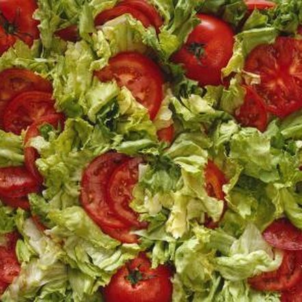 Tomatoes and lettuce grow equally well in a warm but moist climate.