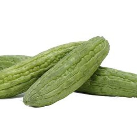 Bitter gourds, or bitter melons, bear only a slight resemblance to their cucumber relatives.