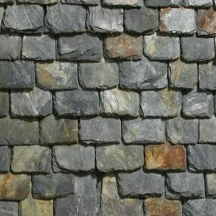 Slate is naturally layered, so it can splinter under pressure.