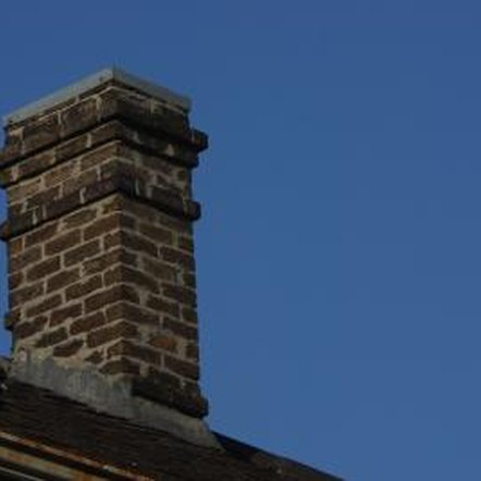 It's wise to have your chimney inspected by a professional to make sure the brick hasn't crumbled inside.