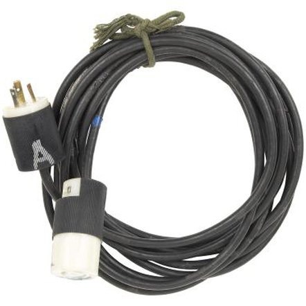 Three-prong extension cords are generally heavy-duty cords that often receive rough use and damage.