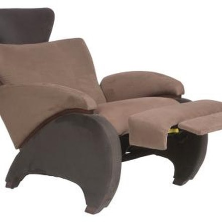 Recliner fabric in good shape can be removed and reused.
