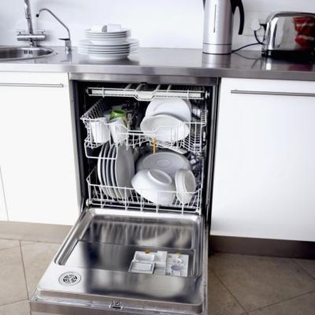 A clogged dishwasher is often an easy fix once the standing water is removed.