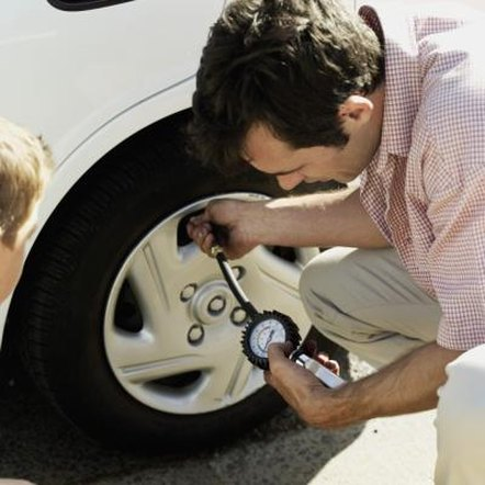Checking your car's tire pressure once a month is just one way to help save gas.