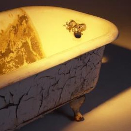 How to paint a bathtub with enamel paint home guides for Bath enamel paint