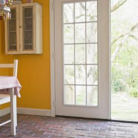 French doors often lead to outdoor patios and similar areas.