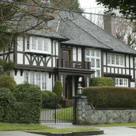 What makes tudor homes unique home guides sf gate - What makes a house a tudor ...