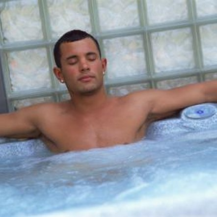 Hot tubs can soothe sore muscles and achy joints.