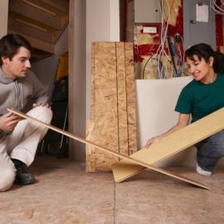 Homeowners looking for durable flooring choose laminate.