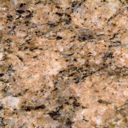 The precise mixture of minerals dictates granite's coloring.