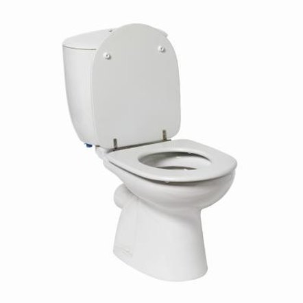 You can glue a broken piece on a toilet tank so that it is nearly as strong as when it was new.