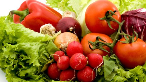 <p>Vegetables are rich in vitamins A and C, fiber and potassium.</p>
