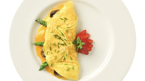 <p>Up to 30 percent of the protein calories in an omelet will be used in digestion.</p>