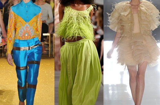 Outrageous Runway Outfits: Spring 2012