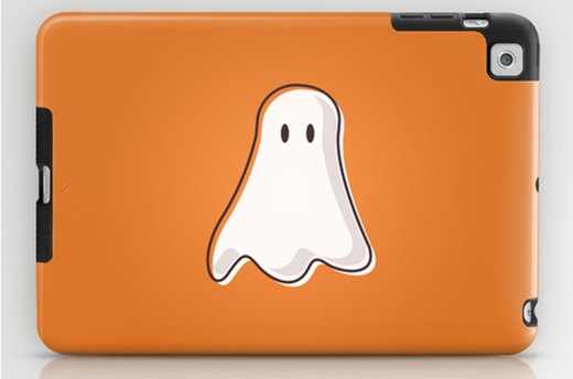 Protect Your Laptop With Halloween Ghost