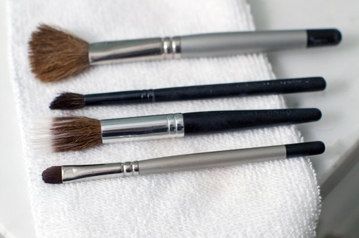Reshape Brushes and Dry
