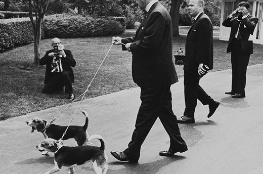 Him and Her, Lyndon Johnson's Beagles
