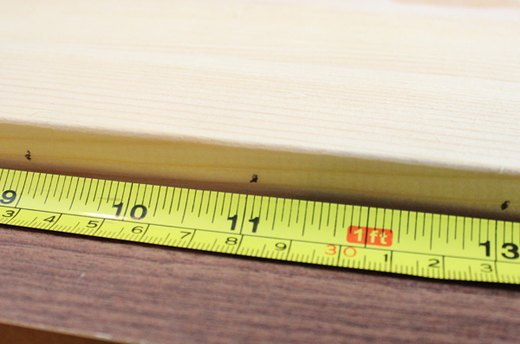 Make Pencil Marks on the Edge of the Wood