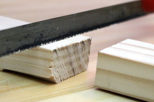 Cut the Wood Strips to the Width of Your Bed